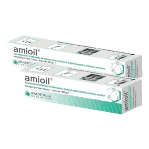Amioil Emulgel 100g 50gr - Nel dolore artrosico, reumatico, traumatico